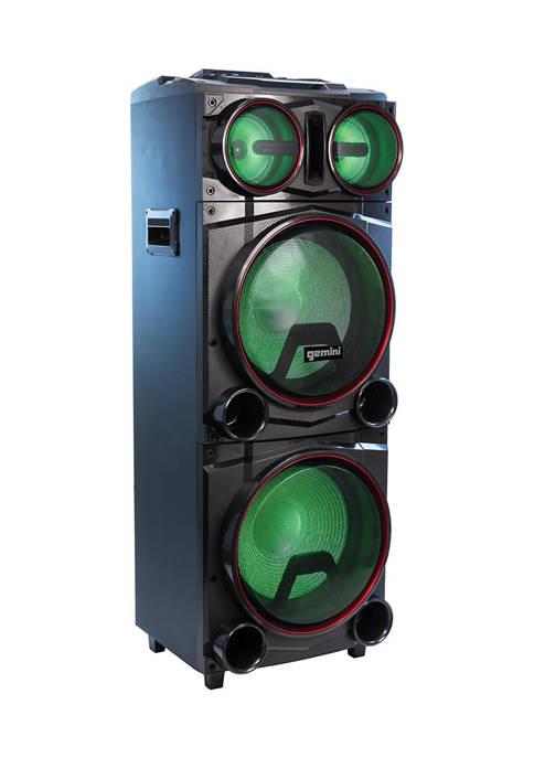 Gemini GMAX-6000 Dual 15 Inch Bluetooth Party System