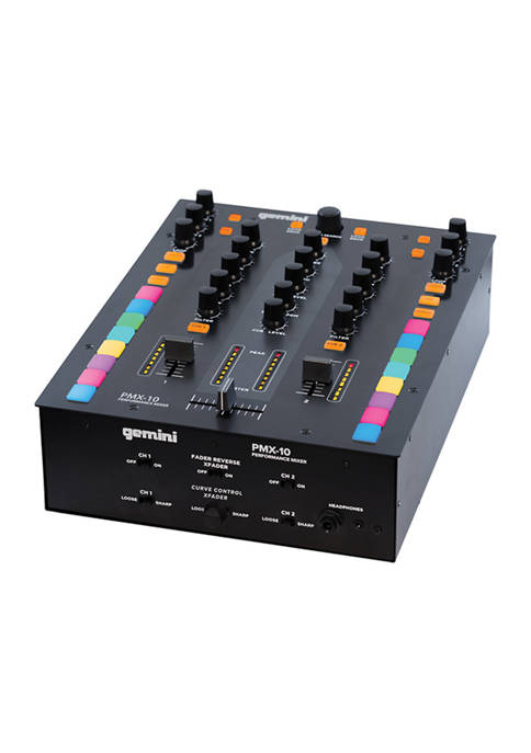 2 Channel Audio Mixer and DJ Controller