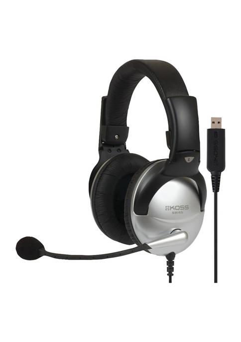 KOSS SB45 USB Full Size Over Ear Communication