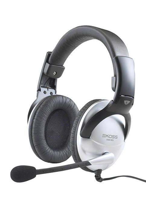 KOSS SB45 Full Size Over Ear Communication Headphones