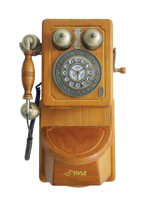 Retro Themed Country Style Wall Mount Phone