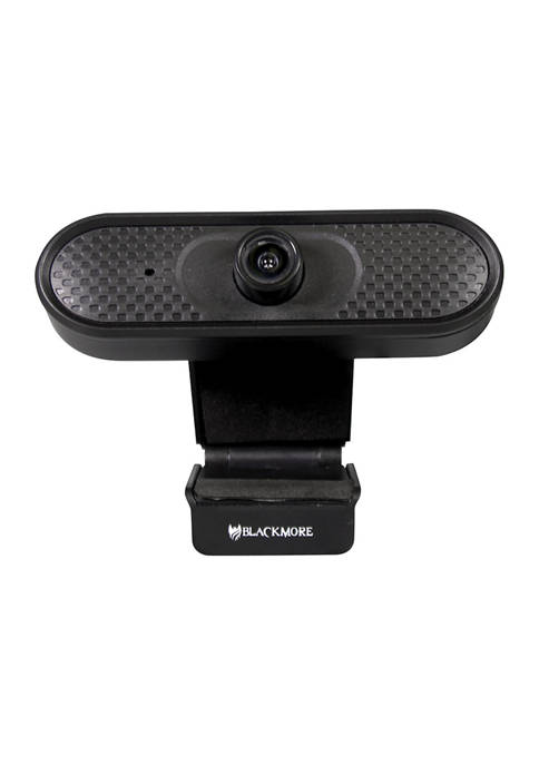 USB 1080p Webcam with Built-In PCM Microphone