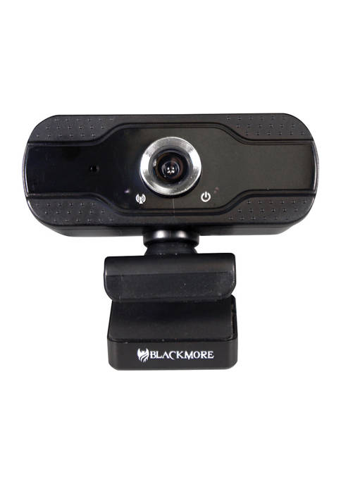 Blackmore Pro Audio USB 1080p Webcam with Built-In
