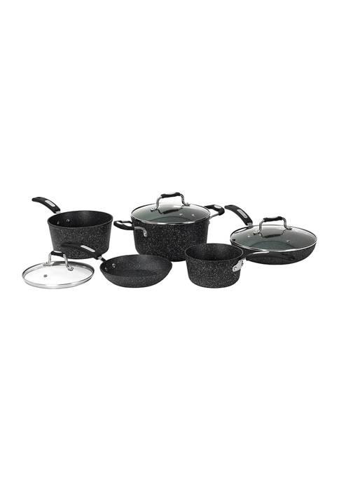 8-Piece Cookware Set with Bakelite Handles