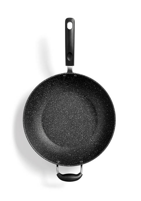 12.5-Inch Nonstick Wok with Helping Handle