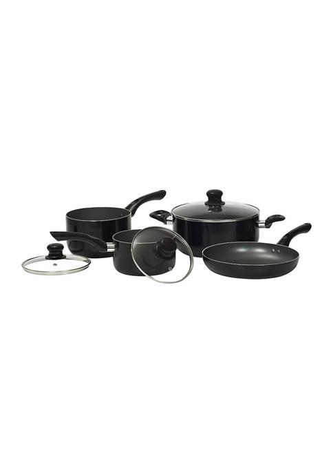 Starbasix Non-Stick Aluminum 7-Piece Cookware Set