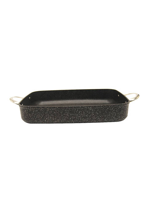 Oven Dish with Stainless Steel Handles (10-Inch x 13-Inch x 2.5-Inch, Square)