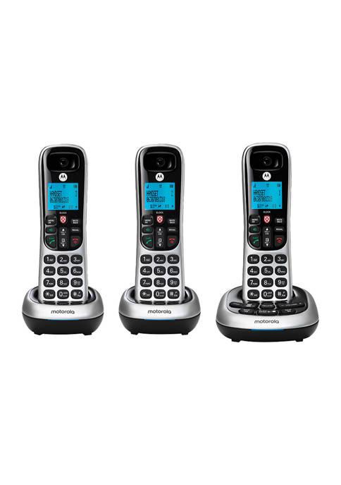 Motorola CD4 Series Digital Cordless Telephone with Answering