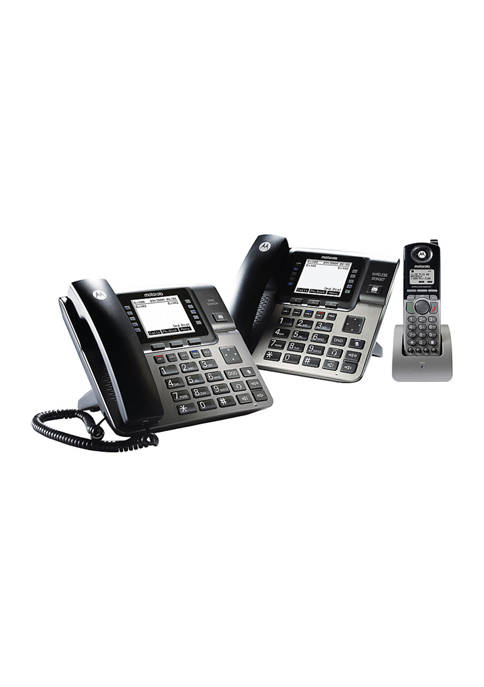 Desk Phone Base Station with Digital Receptionist and Digital Answering System