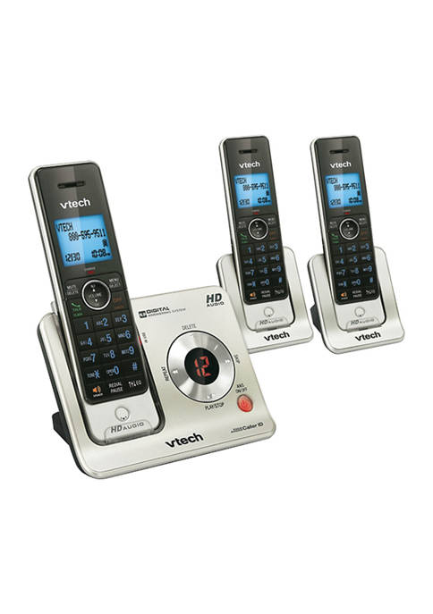 DECT 6.0 3 Handset Answering System with Caller ID Call Waiting