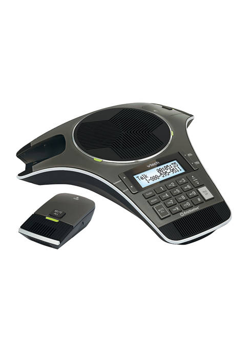 ErisStation Conference Phone with 2 Wireless Microphones