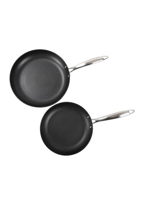 2-Piece Induction Non-Stick Fry Pan Set