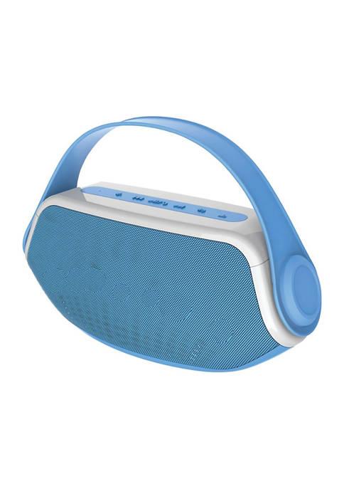 Blue Wireless Bluetooth Portable Boombox