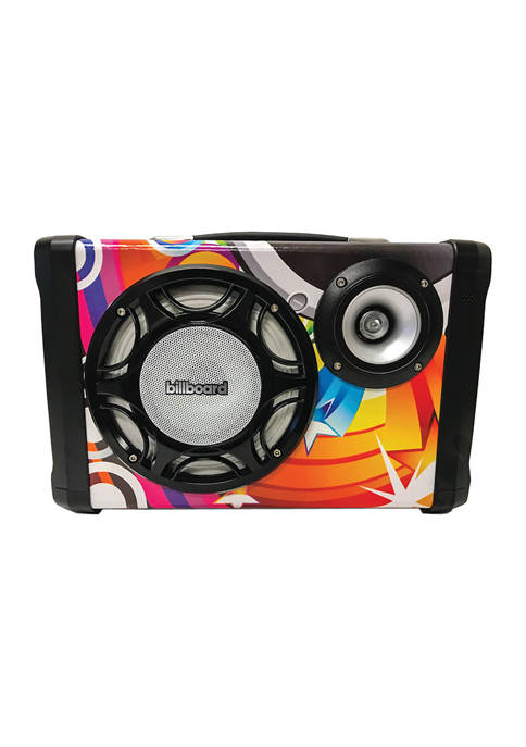 Billboard Graffiti Bluetooth Portable Speaker