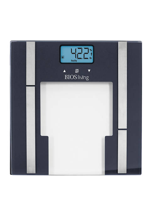 BIOS Medical Glass Lithium Body Fat Scale
