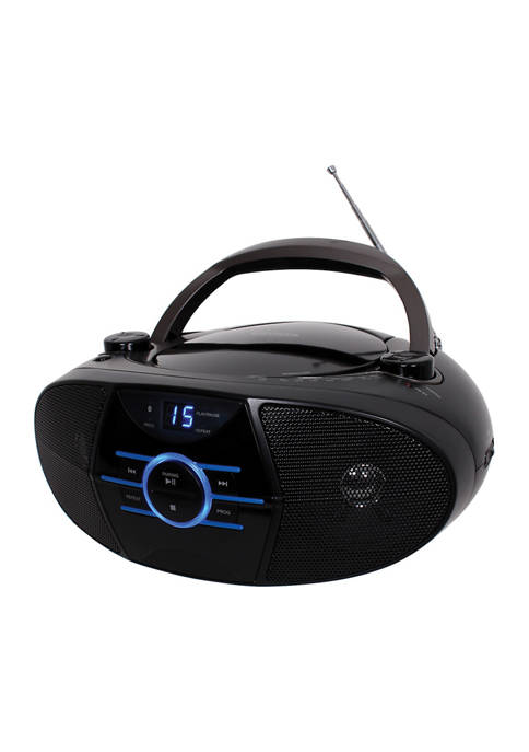 JENSEN Portable Stereo CD Player With AM/FM Stereo