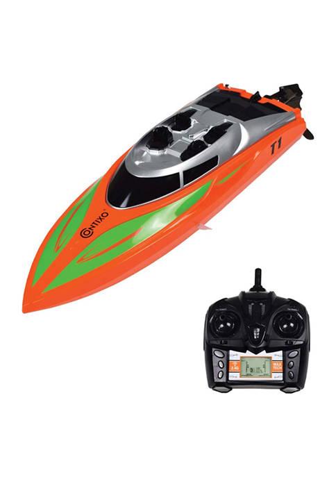 Contixo T1 RC Racing Speed Boat