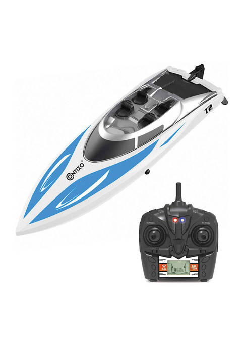 Contixo T2 Radio RC Racing Toy Boat