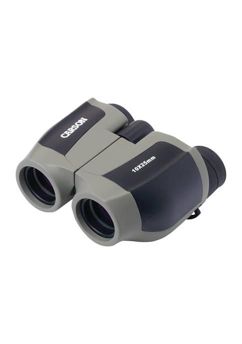 Carson Optical ScoutPlus 10X 25-Millimeter Compact Porro Prism