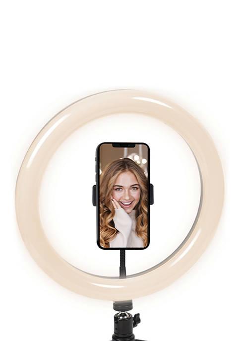 Cygnett V-Glamour 10-Inch Ring Light with Desktop Tripod
