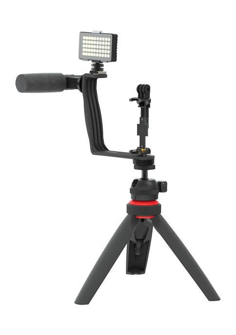 DIGIPOWER Superstar Essential Vlogging Kit with Wireless Remote
