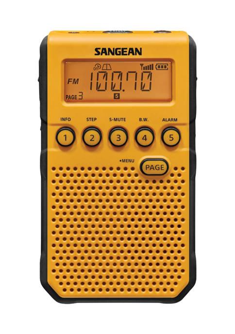 Sangean AM/FM Weather Alert Pocket Radio