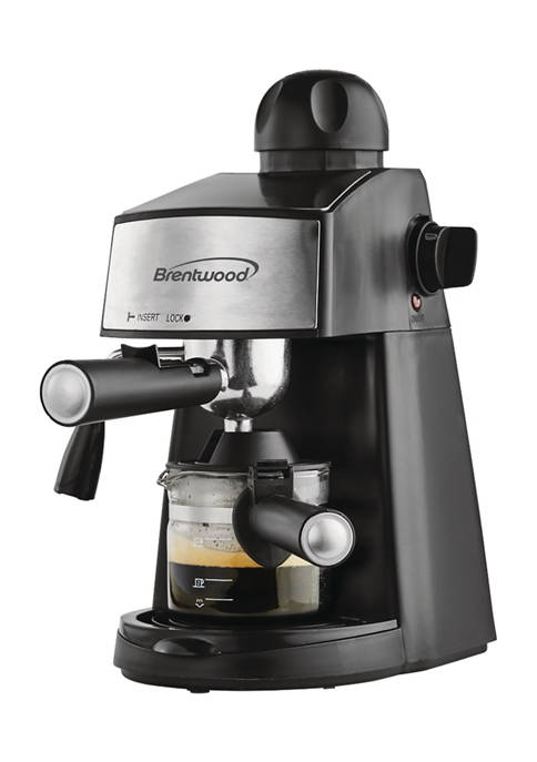Brentwood Espresso and Cappuccino Maker 20 Ounce