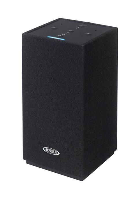 JENSEN Amazon Alexa-Enabled Bluetooth/Wi-Fi Wireless Stereo Smart