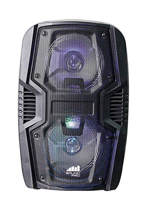 Portable 6.5-Inch Dual Party Speakers and Disco Light