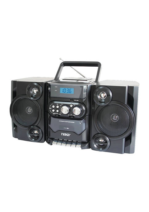 Naxa Portable MP3/CD Player with AM/FM Radio &