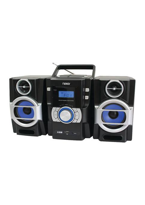 Naxa Portable CD/MP3 Player with PLL FM Radio,