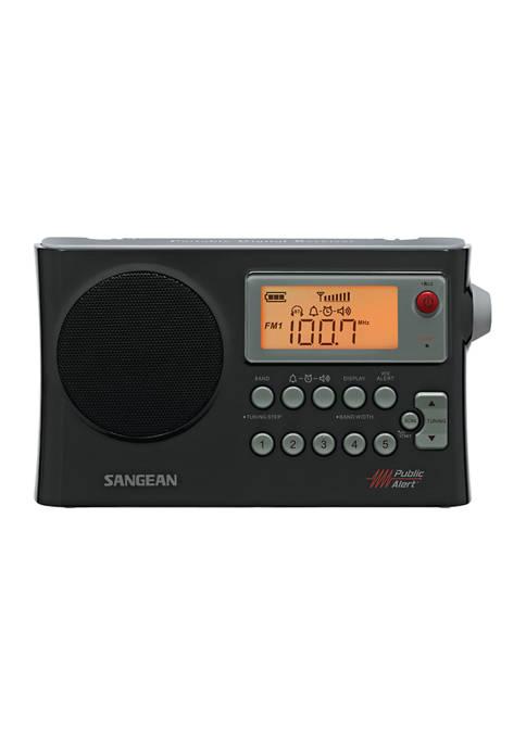 Sangean AM/FM Weather Alert Portable Radio