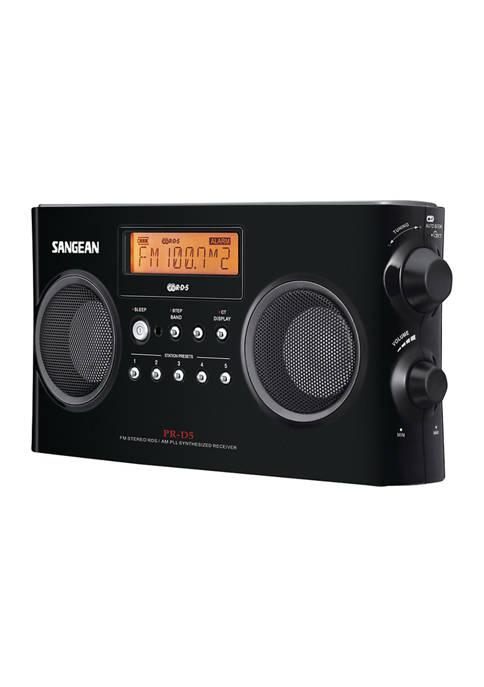 Sangean Digital Portable Stereo Receiver with AM/FM Radio