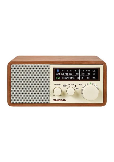 Sangean AM/FM Bluetooth Wooden Cabinet Radio