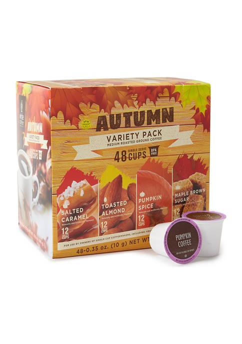 Autumn Variety Pack Medium Roasted Ground Coffee