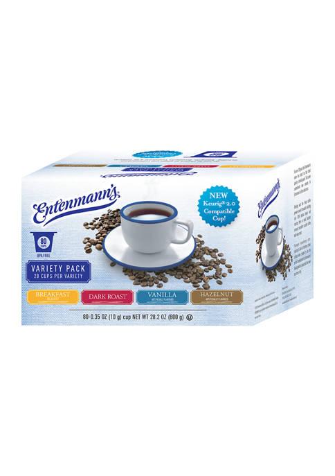 80-Count Entenmann's Single Serve Coffee Pods $20