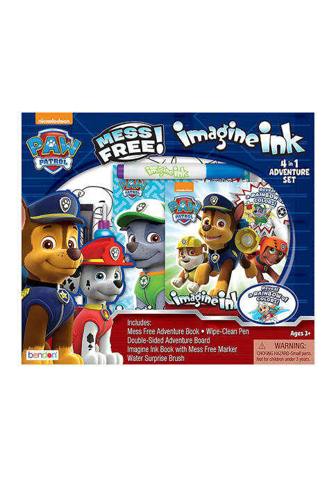 Bendon Paw Patrol 4-in-1 Imagine Ink Set