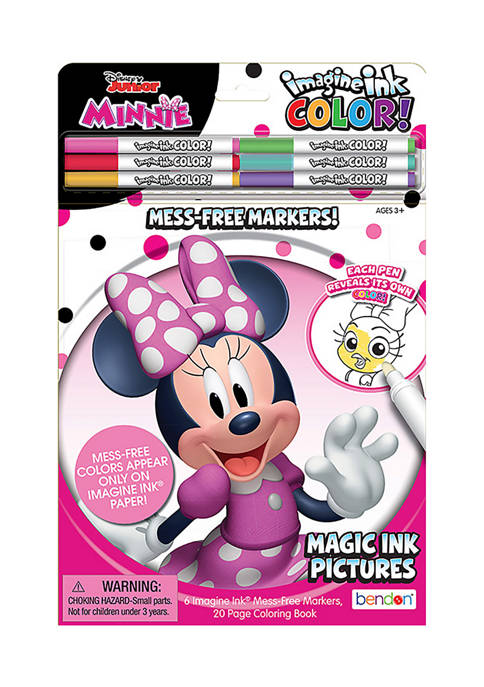 Bendon Disney Minnie Mouse Imagine Ink Color Pad