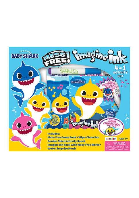 Bendon Baby Shark 4-in-1 Imagine Ink Set