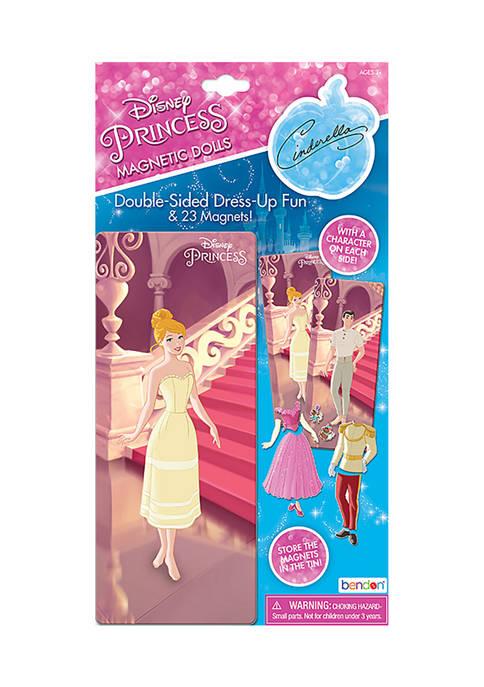 Bendon Disney Princess Cinderella Magnetic Doll Tin