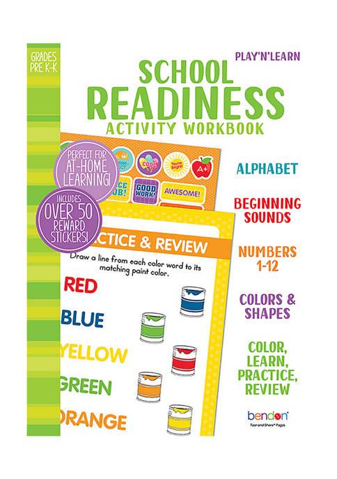 Bendon School Readiness Activity Workbook