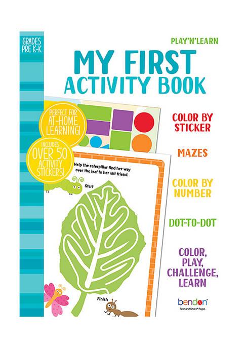 Bendon My First Activity Workbook