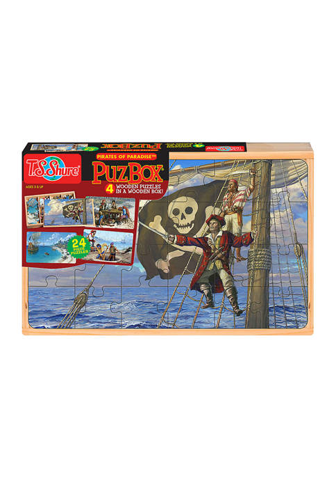 Bendon 4 Large Pirates of Paradise Puzzles with