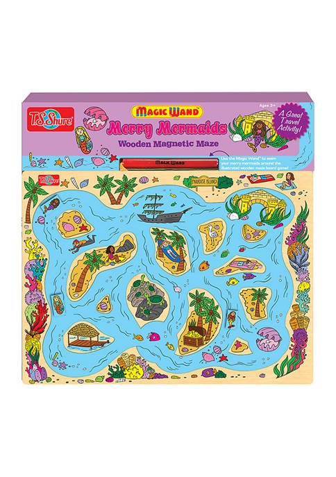Bendon Mary Mermaid Wooden Magnetic Maze