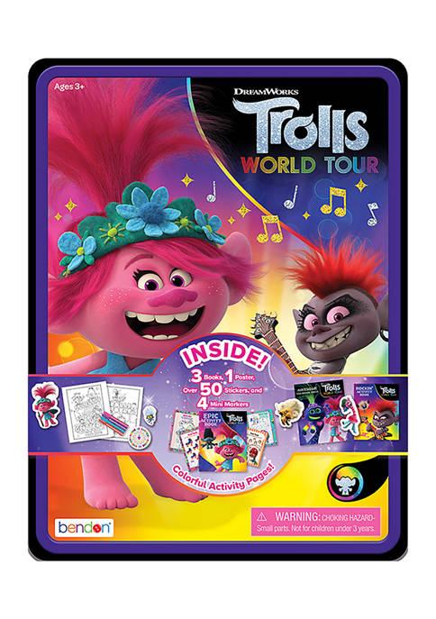 Bendon Trolls: World Tour Activity Tin