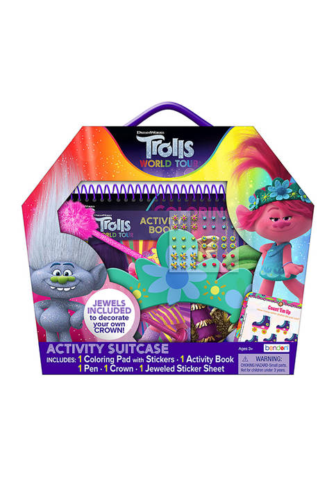 Troll World Tour Activity Suitcase
