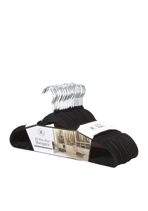 Farberware Set of 25 Non Slip Hangers