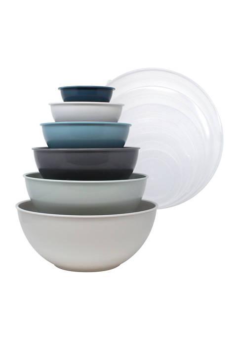 Gourmet Kitchen 12 Piece Mixing Bowl Set with