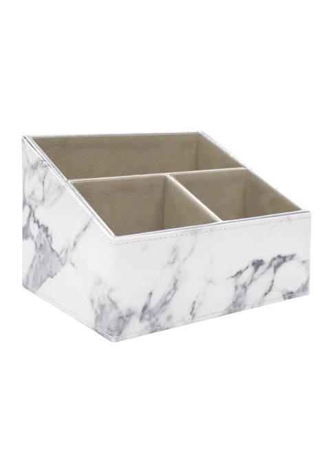 3 Compartment - Large Desk Organizer