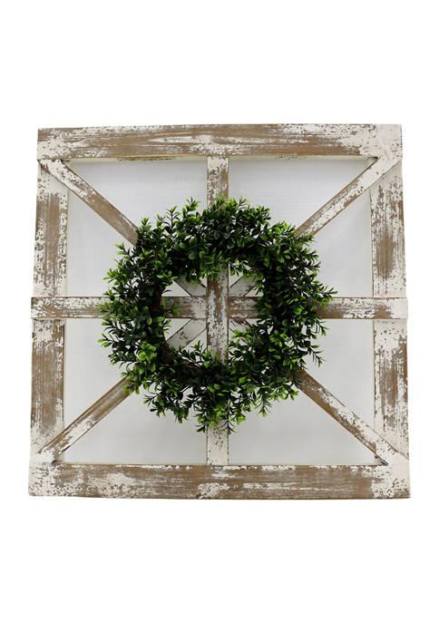 Boston Warehouse Window Wreath